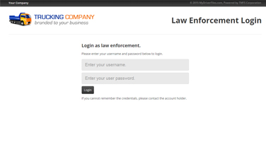 Feature: Law Enforcement Portal